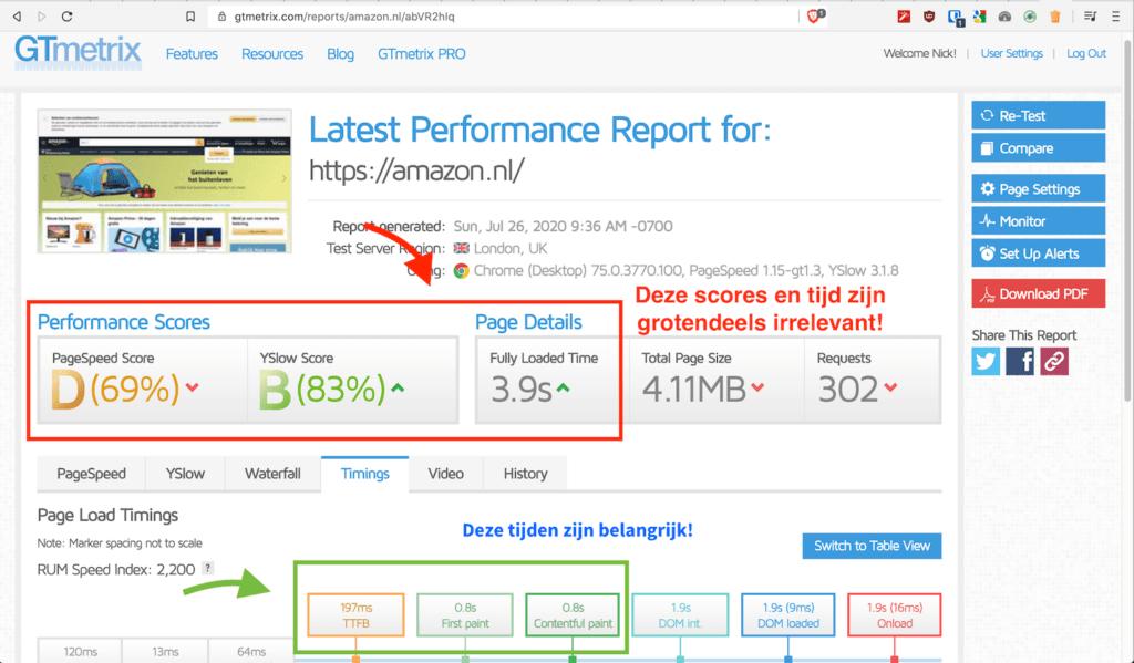 snelheid_wordpress_site_verbeteren_gtmetrix