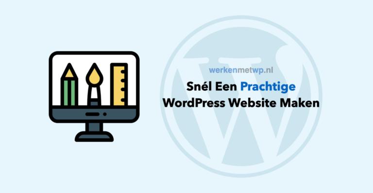 snel_wordpress_website_maken